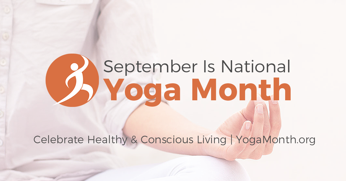 National Yoga Month September - Awareness Campaign Free Yoga